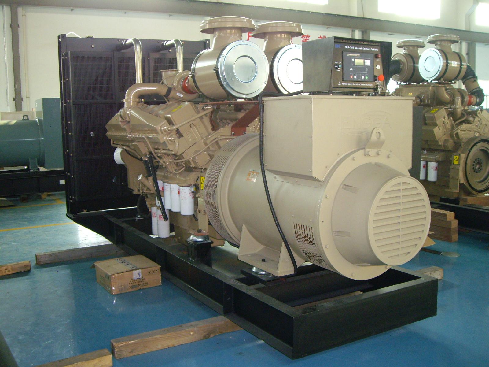 1375KVA sel generator set with cummins engine